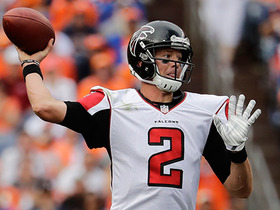 Watch: Matt Ryan throws deep to Tevin Coleman for a 49-yard gain
