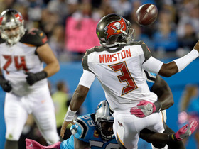 Jameis Winston spins into trouble, recovers own fumble