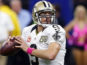 Drew Brees goes over 50,000 career passing yards