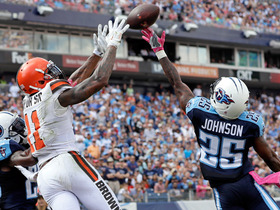 Watch: Terrelle Pryor jumps over two defenders for 7-yard TD catch
