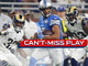 Watch: Can't-Miss Play: Golden Tate ruled down by a shoelace