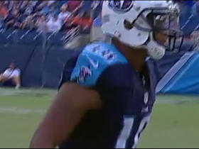 Watch: Marcus Mariota finds Rishard Matthews for 43-yard gain