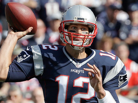 Watch: Tom Brady throws 5,000th completion of career