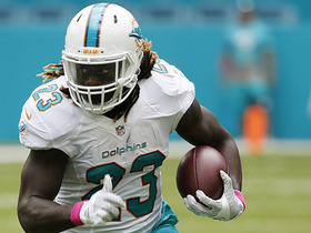 Watch: Jay Ajayi picks up a fast 33-yards