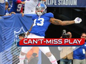 Watch: Can't-Miss Play: Odell celebrates all the way to TD