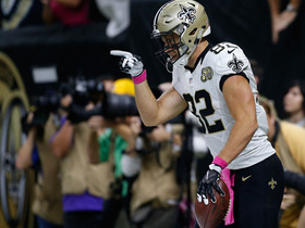 Watch: Coby Fleener makes 50-yard TD grab on mistaken route