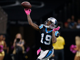 Ted Ginn Jr. passes deep to Brenton Bersin on trick play