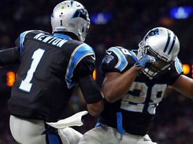Watch: Jonathan Stewart leaps into the end zone for 1-yard TD
