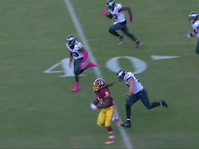 Watch: Matt Jones breaks free to seal Redskins victory