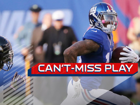 Watch: Can't Miss Play: OBJ breaks free again to take the lead