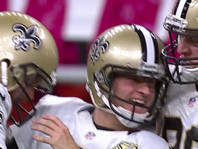 Watch: Wil Lutz hits 52-yard go-ahead field goal with 11 seconds left in the game