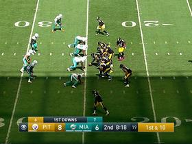 Watch: Big Ben gets hurt vs. Dolphins