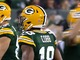 Watch: Rodgers rolls out and completes pass to Cobb