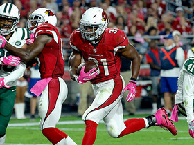 Watch: David Johnson rushes for 3rd TD of game