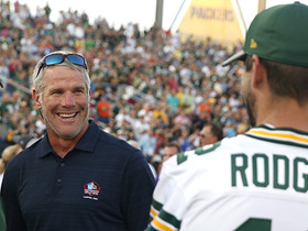 Favre: Packers fans have been 'spoiled' by stellar QBs
