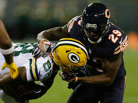 Watch: Ty Montgomery stopped short on fourth-and-goal