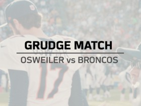 Watch: Grudge Match: Osweiler vs Broncos