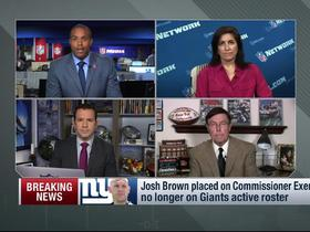 Watch: Judy Battista, Ian Rapoport discuss Josh Brown investigation
