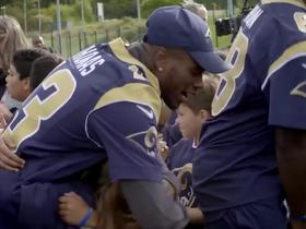 Watch: The Rams take London