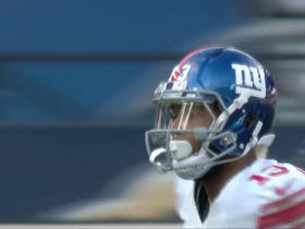 Watch: Eli Manning finds Odell Beckham for 12 yards
