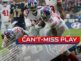 Watch: Can't-Miss Play: Landon Collins pick six off the tip