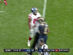 Watch: Rashad Jennings makes a catch-and-run for 24 yards
