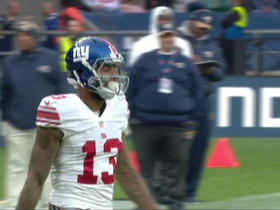 Watch: Eli Manning finds Odell Beckham for 23 yards