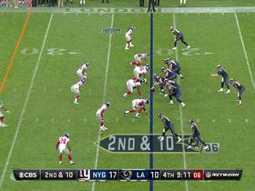 Watch: Damon Harrison sacks Case Keenum for a 12-yard loss