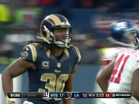 Watch: Todd Gurley juggles the ball for a 5-yard catch