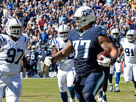 Watch: Mariota hits LT Lewan for big-guy touchdown