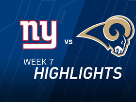 Watch: Giants vs. Rams highlights