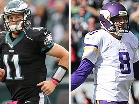 Watch: Eagles and Vikings combine for 5 turnovers in 1st quarter