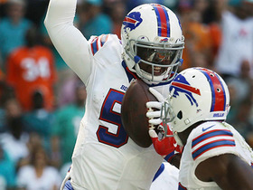 Watch: Camera falls for Tyrod Taylor's fake on TD