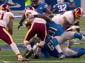 Watch: Kirk Cousins sacked for second time