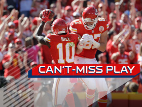 Watch: Can't-Miss Play: Alex Smith goes deep to Tyreek Hill for 38-yard TD