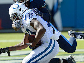 Watch: Andrew Luck finds T.Y. Hilton again for 22 yards