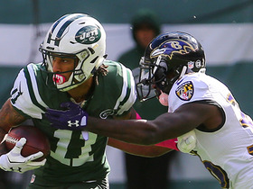 Watch: Robby Anderson rushes for 30-yard gain