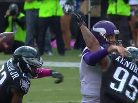 Watch: Eagles sack Sam Bradford, force a fumble and recover