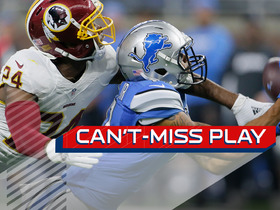 Watch: Can't-Miss Play: Jones beats Norman for 52 yards