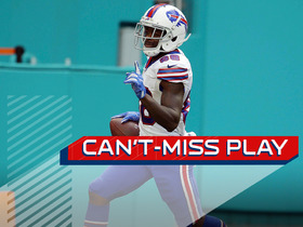 Watch: Can't-Miss Play: Goodwin blows past Dolphins defense