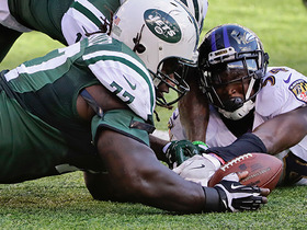 Watch: Matt Forte fumbles, Ravens recover, Ravens fumble, Jets recover