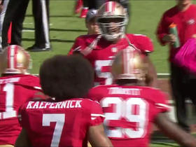 Watch: 49ers defense makes stand on fourth down