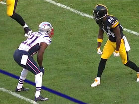 Watch: Antonio Brown pulls in a 51-yard reception