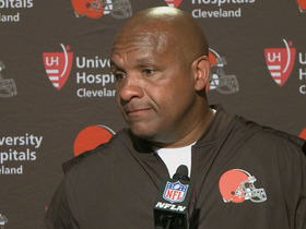 Watch: Hue Jackson fed up with losing