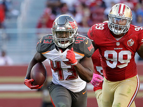 Watch: Barber bursts through 49ers defense for a 44-yard TD