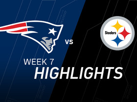 Watch: Patriots vs. Steelers highlights