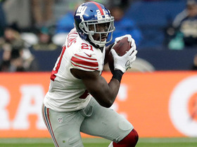 Watch: Next Gen Stats: How much ground did Landon Collins cover on pick-six?