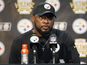 Watch: Steelers postgame press conference