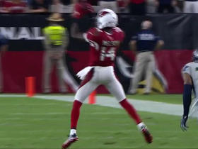 Watch: Palmer finds J.J. Nelson for 20 yards