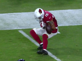 Watch: Michael Floyd drops pass in overtime